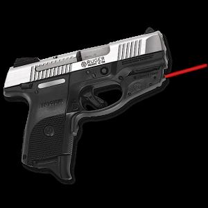 Crimson Trace LG449 Laserguard Red 633 nm Ruger SR9C Blk Poly