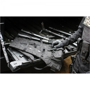 Modular Backpack  Modular Backpack Black The Modular Tool Pack, a fully-customizable, S.T.R.I.K.E./MOLLE-compatible, Entry Tool Platform, will store easily in the trunk of a patrol car and is ideal for Active Shooter Callouts.