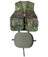Primos Hunting Calls Safety Vest in Mesh and Treehide Camouflage - Large/Extra Large