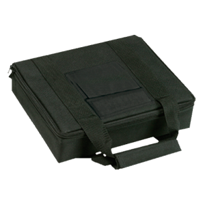 "Bulldog BD511 Single Pistol Case 9x3x11"" Hard Composite w/Padded Nylon Shell Blk"