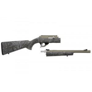 """Tactical Solutions X-Ring .22 Long Rifle Takedown 10-Round 16.5"""" Semi-Automatic Rifle in OD Green - TD RTE-04 H-GGRN"""