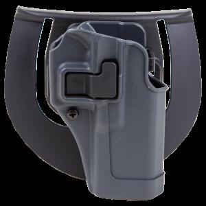 "Blackhawk Serpa Sportster Right-Hand Paddle Holster for Glock 20, 21 in Grey (5"") - 413513BKR"