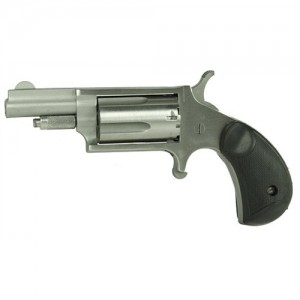 """North American Arms Mini-Revolver .22 Winchester Magnum 5-Shot 1.62"""" Revolver in Stainless (Carry Combo *Sports South Exclusive*) - 22MGRCHSS"""
