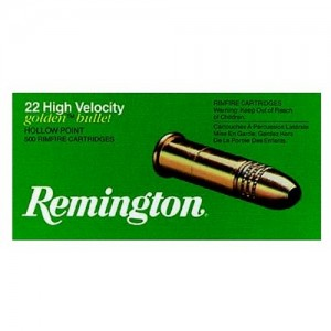 Remington .22 Long Rifle Hollow Point, 36 Grain (40 Rounds) - GL22HP