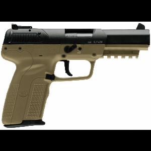 """FN Herstal Five-Seven 5.7x28mm 10+1 4.75"""" Pistol in Black (3-Dot Adjustable Sights) - 3868929352"""