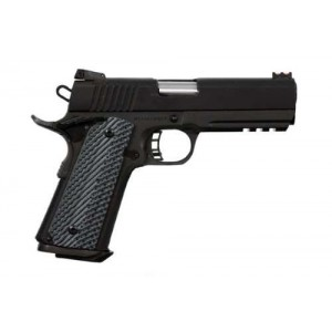 """Rock Island Armory 1911-A1 Tactical 2011 VZ 10mm 8+1 4.25"""" 1911 in Fully Parkerized Frame & Slide - 51994"""
