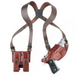 Aker Leather Shoulder Right-Hand Shoulder Holster for Beretta M9 in Plain Tan - H101TPRU-BE 92F
