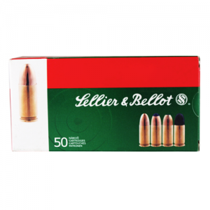 Sellier & Bellot .300 AAC Blackout Full Metal Jacket, 124 Grain (20 Rounds) - SB300BLKA