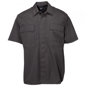 5.11 Tactical TDU Men's Uniform Shirt in Black - 4X-Large