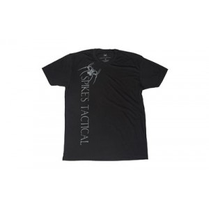 Spike's Tactical Vertical Spike's Tactical w/ Spider Men's T-Shirt in Black - Large