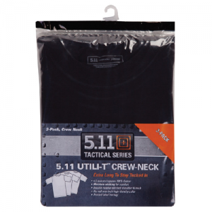 5.11 Tactical Utili-T Men's T-Shirt in Black - Medium