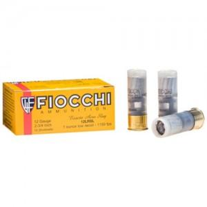 """Fiocchi Ammunition Low Recoil .12 Gauge (2.75"""") Slug (10-Rounds) - 12LRSLUG"""