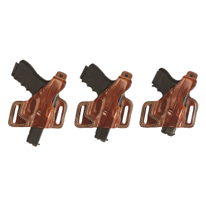 """Galco International Silhouette Right-Hand Belt Holster for Beretta 92, 96/Taurus 92, 99, 100, 101 in Tan (5"""") - SIL202"""