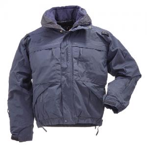5.11 Tactical 5-in-1 Men's Full Zip Jacket in Dark Navy - X-Large
