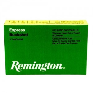 "Remington Express Magnum .12 Gauge (3.5"") 00 Buck Shot Lead (5-Rounds) - 1235B00"