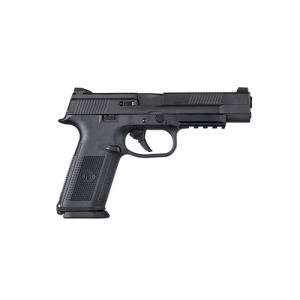 """FN Herstal FNS-9 Long Slide 9mm 17+1 5"""" Pistol in Black (No Manual Safety) - 66717"""