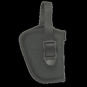 """Blackhawk Hip Left-Hand IWB Holster for Small 5-Shot Revolvers in Black (2"""") - 73NH09BKL"""