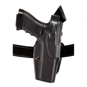 6367 ALS/SLS Belt Loop Holster w/Hood Guard Belt Slots: 1.5  Belt Slots w/ Cut-outs for 1.75  Belt Slots Finish: Plain Black Gun Fit: Glock 20 (4.6  bbl) Hand: Right - 6367-383-61-150