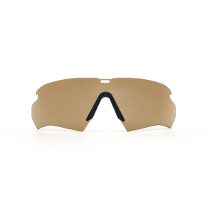 Crossbow Lens Hi-Def Bronze - 2.4mm interchangeable lens & nosepiece. ClearZone dual lens coatings maximize scratch resistance on the outside & fog resistance on the inside