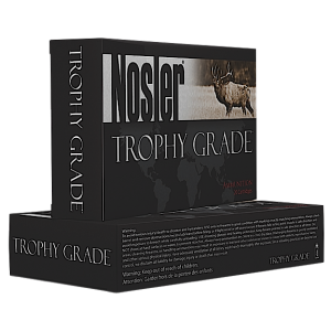 Nosler Bullets Trophy Grade .338 Winchester Magnum AccuBond, 250 Grain (20 Rounds) - 60086