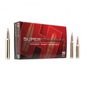 Hornady Superformance GMX 7X57 Mauser Gilding Metal Expanding, 139 Grain (20 Rounds) - 81556