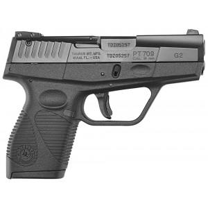 """Taurus G2 Slim Series 9mm 9+1 3"""" Pistol in Blued - 1709031G2"""