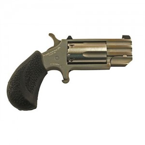 """North American Arms Magnum .22 Winchester Magnum 5-Shot 1"""" Revolver in Stainless (Pug) - PUGT"""