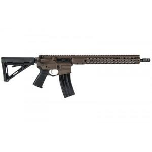 "Barrett Rec7 Di, Semi-automatic Rifle, 6.8spc, 16"" Barrel, Multi-role Brown Finish, 6 Position Stock, 30rd, Barrett Keymod Handguard, 1 Magazine 15406"