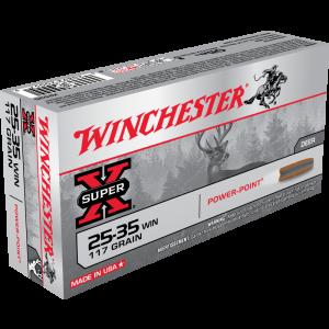 Winchester Super X .25-35 Winchester Soft Point, 117 Grain (20 Rounds) - X2535
