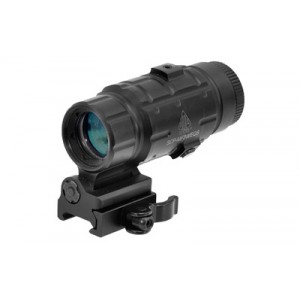 Leapers, Inc. - UTG SWATFORCE Magnifier Series 3x25 Riflescope in Black - SCP-MF3WEQS