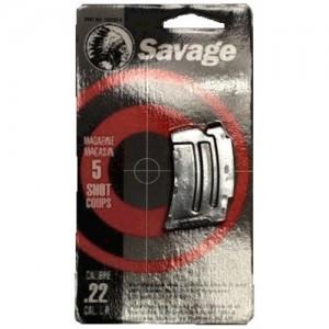 Savage Arms 5 Round Stainless Magazine For 90 Series 22 Magnum/17 HMR 90009