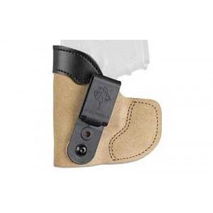 "Desantis Gunhide 111 Pocket-Tuk Right-Hand Pocket  Holster for Diamondback DB380, DB9 in Natural Suede (2.8"") - 111NAV3Z0"