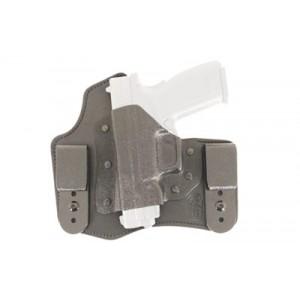 Desantis Gunhide 105 Intruder Left-Hand Belt Holster for Glock 17, 19, 20, 21, 22, 23 in Black Kydex Leather - 105KBB2Z0