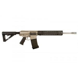 """Black Rain Ordinance Nor-Guard .308 Winchester/7.62 NATO 20-Round 18"""" Semi-Automatic Rifle in Nickel Boron - BRO-PG14"""