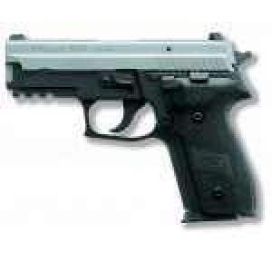 """Sig Sauer P229 Compact MA Compliant 9mm 10+1 3.9"""" Pistol in Two Tone Black Nitron (SIGLITE Night Sights) - 229RM9TSS"""