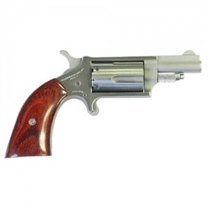 "North American Arms 22MAG .22 Winchester Magnum 5-Shot 1.12"" Revolver in Stainless (Boot Style Grip) - 22MSGBG"