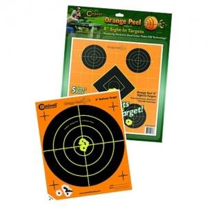 """Caldwell 5 Pack 8"""" Orange Peel Targets 522357"""
