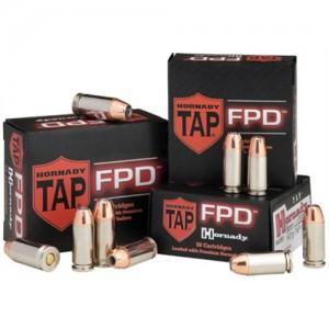 Hornady 9mm TAP-FPD, 124 Grain (25 Rounds) - 90248
