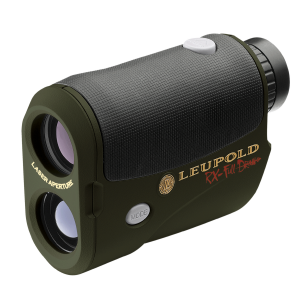 Leupold & Stevens RX Full Draw 5x Monocular Rangefinder in Black/Green - 115268