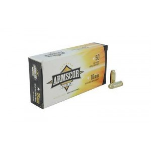 Armscor 10mm Full Metal Jacket, 180 Grain (50 Rounds) - FAC10-2N