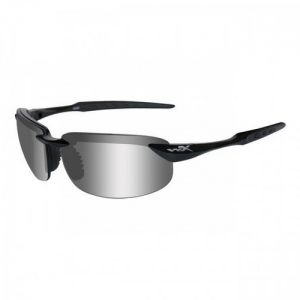Polarized Silver Flash /Gloss Black