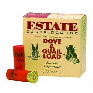 "Estate Cartridge Upland .12 Gauge (2.75"") 7.5 Shot Lead (25-Rounds) - XHG1275"