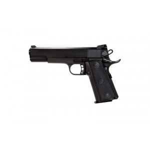 """Rock Island Armory 1911-A2 .22 TCM/9mm 17+1 4.25"""" 1911 in Fully Parkerized Frame & Slide - 51949"""