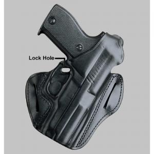 """Desantis Gunhide F.A.M.S. Left-Hand Belt Holster for Sig Sauer P229 in Black (3.9"""") - 01LBBC7Z0"""