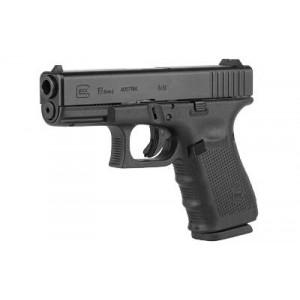 "Glock 19 9mm 15+1 4.02"" Pistol in Fired Case, Matte Polymer (Gen 4) - UG1950203"