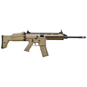 "ISSC/LSI MK22 .22 Long Rifle 10-Round 16"" Semi-Automatic Rifle in Desert Tan - M211005"