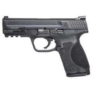 "Smith & Wesson M&P M2.0 Compact 9mm 15-Round 4"" Pistol in Black Armornite (No Manual Safety) - 11683"
