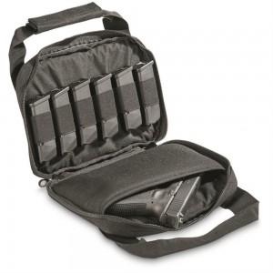 Sig Sauer SigTac Single Pistol Range Bag Nylon Black SIGBAGSINGLEBLACK