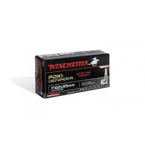 Winchester Super PDX 7.62X39 Personal Defense Expandable, 120 Grain (20 Rounds) - S76239PDB