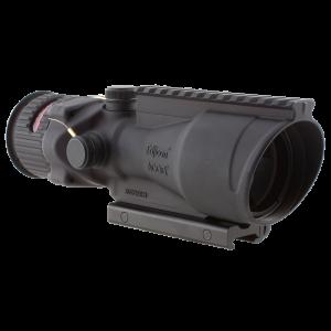 "Trijicon TA648 ACOG 6x 48mm Obj 2.7"" Eye Relief Chevron Shape Matte Black"
